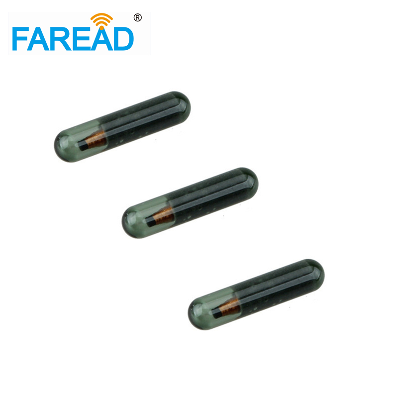 Best Quality X100pcs Free Shipping Glass Tag Transponder ID8E Glass Tube Fit For Immobiliser