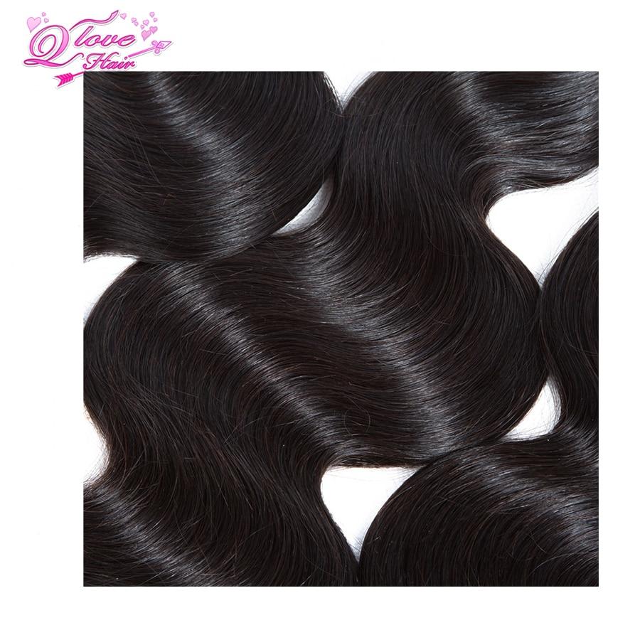 Queen Love μαλλιά βραζιλιάνα σώμα κορδόνι - Ομορφιά και υγεία - Φωτογραφία 5