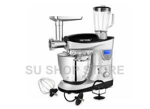 Image 4 - CHEFTRONIC 4 In 1 Multifunction Kitchen Stand Mixer SM 1088, 1000W 7.4QT Precise Heat Stainless Mixing Bowl with Meat Grinder B