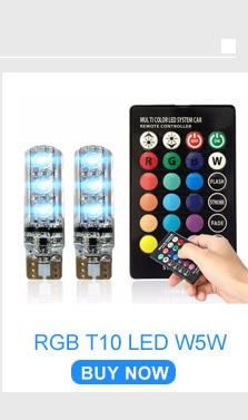 06  RGB T10 LED W5W