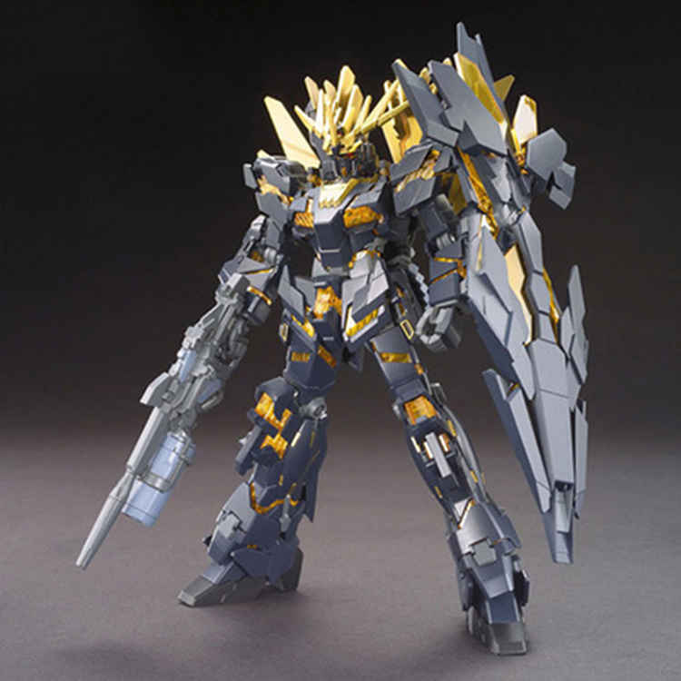 Brand Daban HGUC 1:144 Unicorn Gundam 02 Banshee Gundam Robot Action Figure Anime Fan Collection Children Toys new 20000 lumens high power 10t6 led 10 x cree xm l t6 led flashlight torch lamp light lantern with 4 batteries