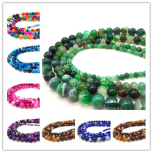4 6 8 10mm Natural Stone Lava Bulk Loose Stone Beads For DIY Making Bracelet Necklace Jewelry