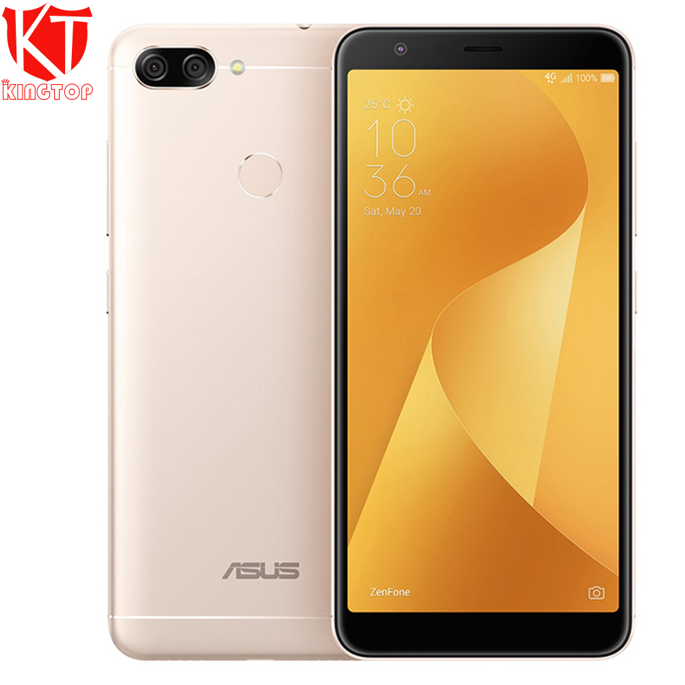 "Original ASUS Zenfone 4s Max Plus M1 Mobile Phone 4130mAh 5.7"" 4GB 64GB Pegasus 4S ZB570TL Octa Core 16.0MP Camera Fingerprint"