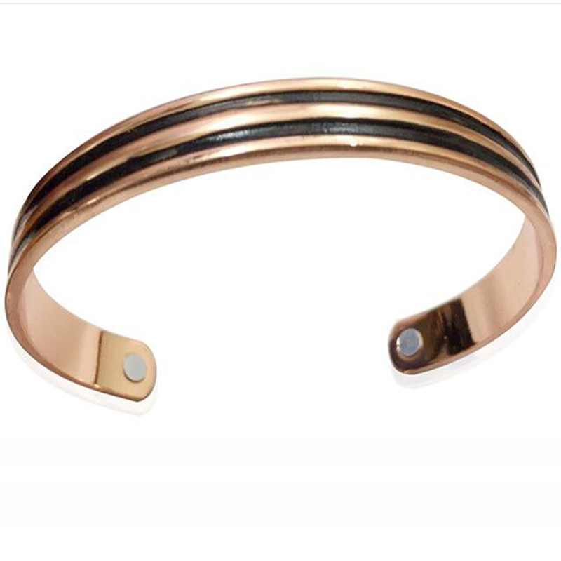 Healing Magnetic Therapy Bracelet Birthday Gifts For Elderly Copper Bangle Energy Health Jewelry In Bangles From Accessories On