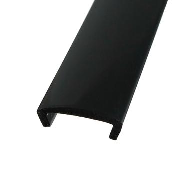 20ft 6m długość plastik 5 8 #8222 16mm szerokość u-molding U formowanie u-mold Arcade MAME automat do gier szafka czarny tanie i dobre opinie xinmo T moulding 8 lat 16mm U moulding