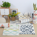 60X90 см мягкие ковры в скандинавском стиле для гостиной  дверной коврик  декоративный толстый домашний ковер  напольный дверной коврик  Изящн...