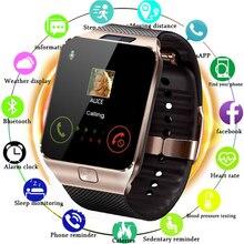 Bluetooth Kamera ile Apple Izle Erkekler Kadınlar Için 2G SIM TF Kart Yuvası akıllı saat Telefon için Android IPhone xiaomi Rusya T15