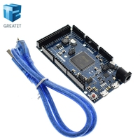 Official Compatible DUE R3 Board SAM3X8E 32 Bit ARM Cortex M3 Mega2560 R3 Duemilanove 2013 For