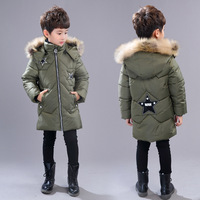 2018 Winter kids winter jacket winter coat for kids baby boy clothes Korean style fashion sport cotton padded jacket