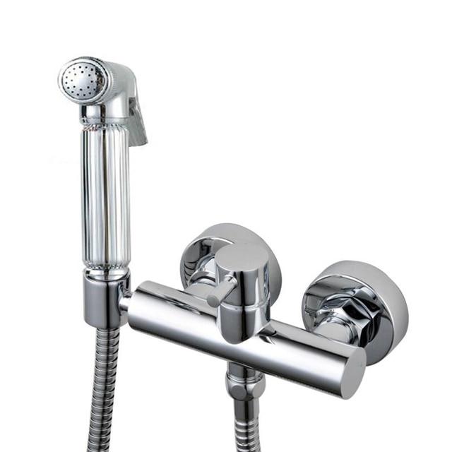 Aliexpress Com Buy Brass Bidet Faucet Shattaf Spray