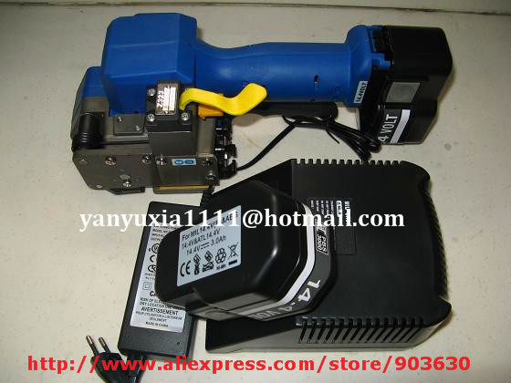 Z323 portable Electric automatic Battery PET/PP Strapping machine Strapping Tools for 19MM PET&PP strap  цены