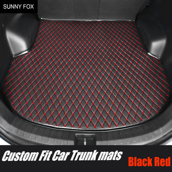 Custom fit Car trunk mats cargo Liner for Mazda CX-7 CX7 6D all weather protection heavy duty car-styling carpet rugs floor line image
