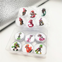 16pcs Full Set Splatoon 2 NFC Game Card Of Amiibo Collection Coin NTAG215 Sticker Printed Tag For NS Switch 3DS Fast Shipping(China)