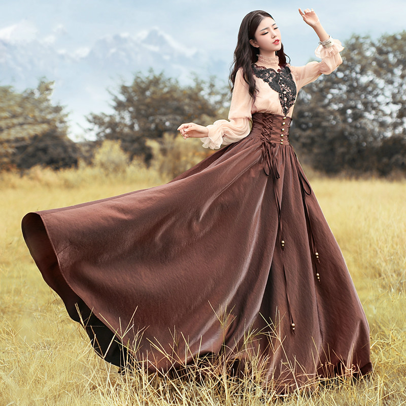 Popular Long Brown Skirts-Buy Cheap Long Brown Skirts lots from ...