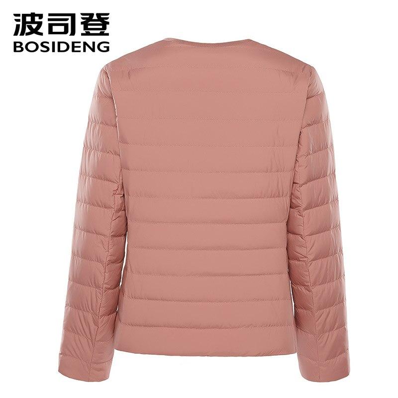 BOSIDENG 2018 nowa wczesna zima odzież damska kobiety płaszcz puchowy 90 kaczka kurtka puchowa ultra lekki wysokiej jakości duży rozmiar b80130012B w Płaszcze puchowe od Odzież damska na  Grupa 3