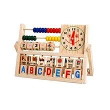 Дети Детские Дети Обучения Развивающие Универсальный Лоскут Счеты Деревянные Игрушки