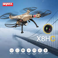 SYMA X8HC RC Drone With 2MP Camera HD 6-AXIS Gyroscope Quadcopter RC Helicopter Professional Drones Headless Mode Toys For Boys