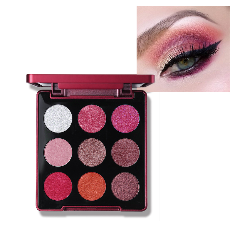 Beauty Essentials By Nanda Brand Matte Eyeshadow Pigment Cosmetic 13 Colors Waterproof Single Eye Shadow Glitter Powder Long-lasting Women Makeup Beauty & Health