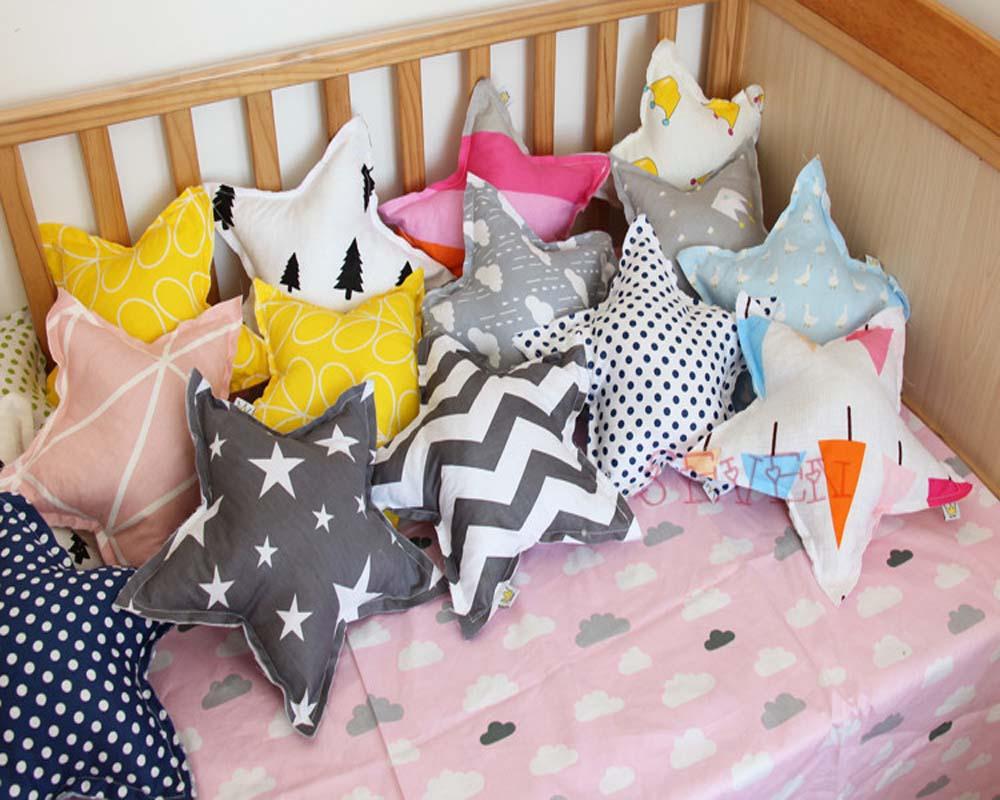 Soft Cloud Star Heart Plush Toy Cute Stuffed Decorative Pillow Wedding Throw Cushions For Guest Portable Nap Pillows
