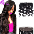 8A Human Hair Brazilian Lace Frontal Closure 13x4 Brazilian Body Wave Lace Frontal Weave Free Part Virgin Body Wave Lace Frontal