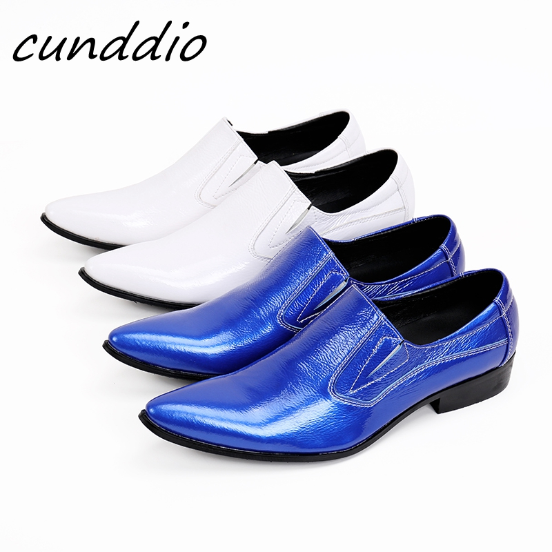 Handkerchief business casual men  fashion hairdressers  blue leather shoes white summer men  tide shoes Genuine Flats 2017 new spring imported leather men s shoes white eather shoes breathable sneaker fashion men casual shoes