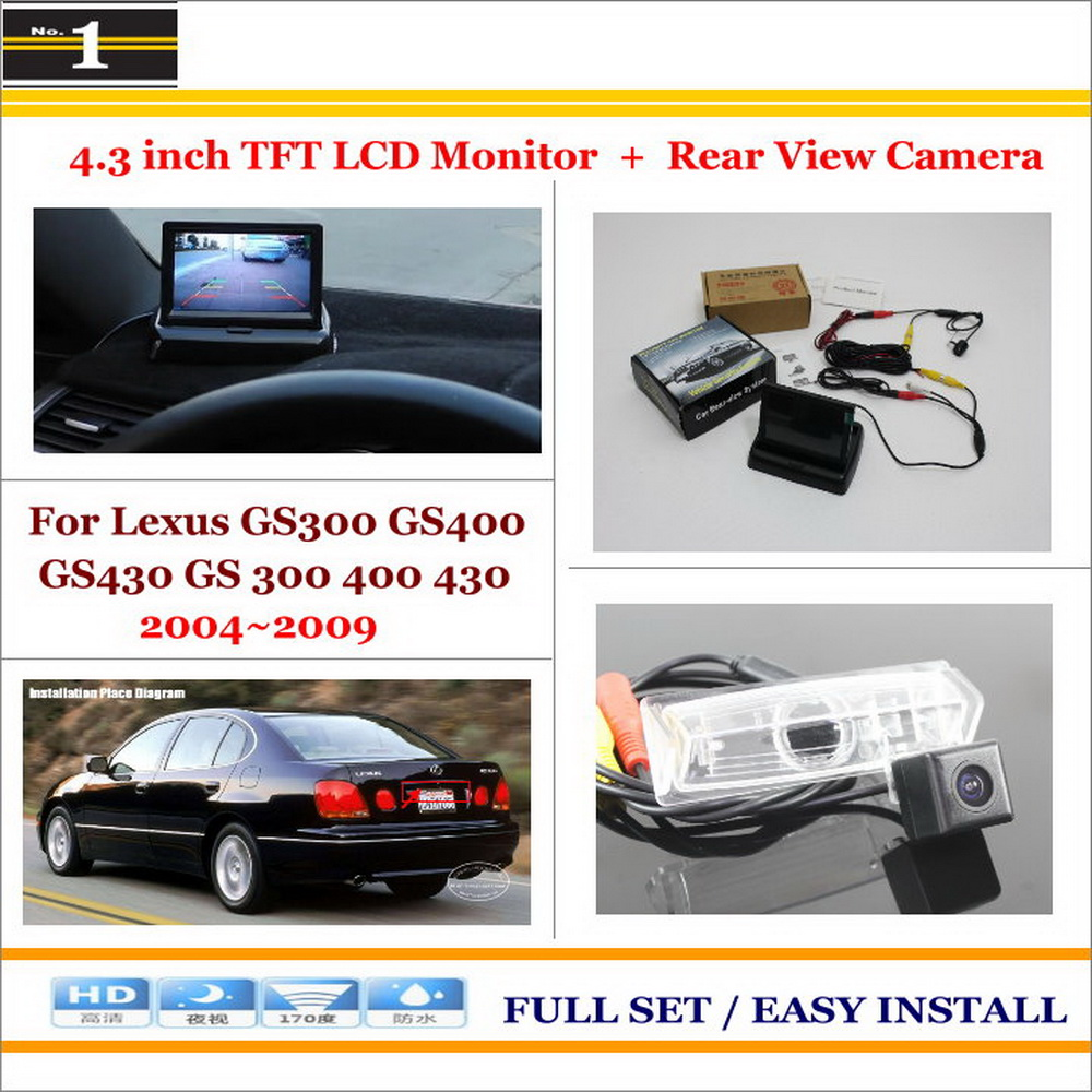 Backup Camera Rear View Mirror Lexus Oem Style Rx300 Engine Back Wiring Diagram Auto Parking Assistance System 2 In 1 4 3 Digital Tft Lcd Car