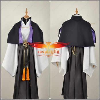 Japanese Voice Actor Division Rap Battle Fling Posse Yumeno Gentarou Phantom Men Adult Tops Belt Outfit Cosplay Costume Kimono