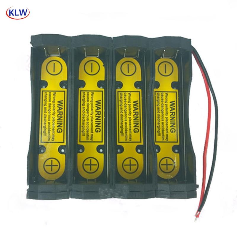 Protected Holder Case for 4S1P 14.8v 14.4v 18650 Li-ion Battery Charge//Discharge