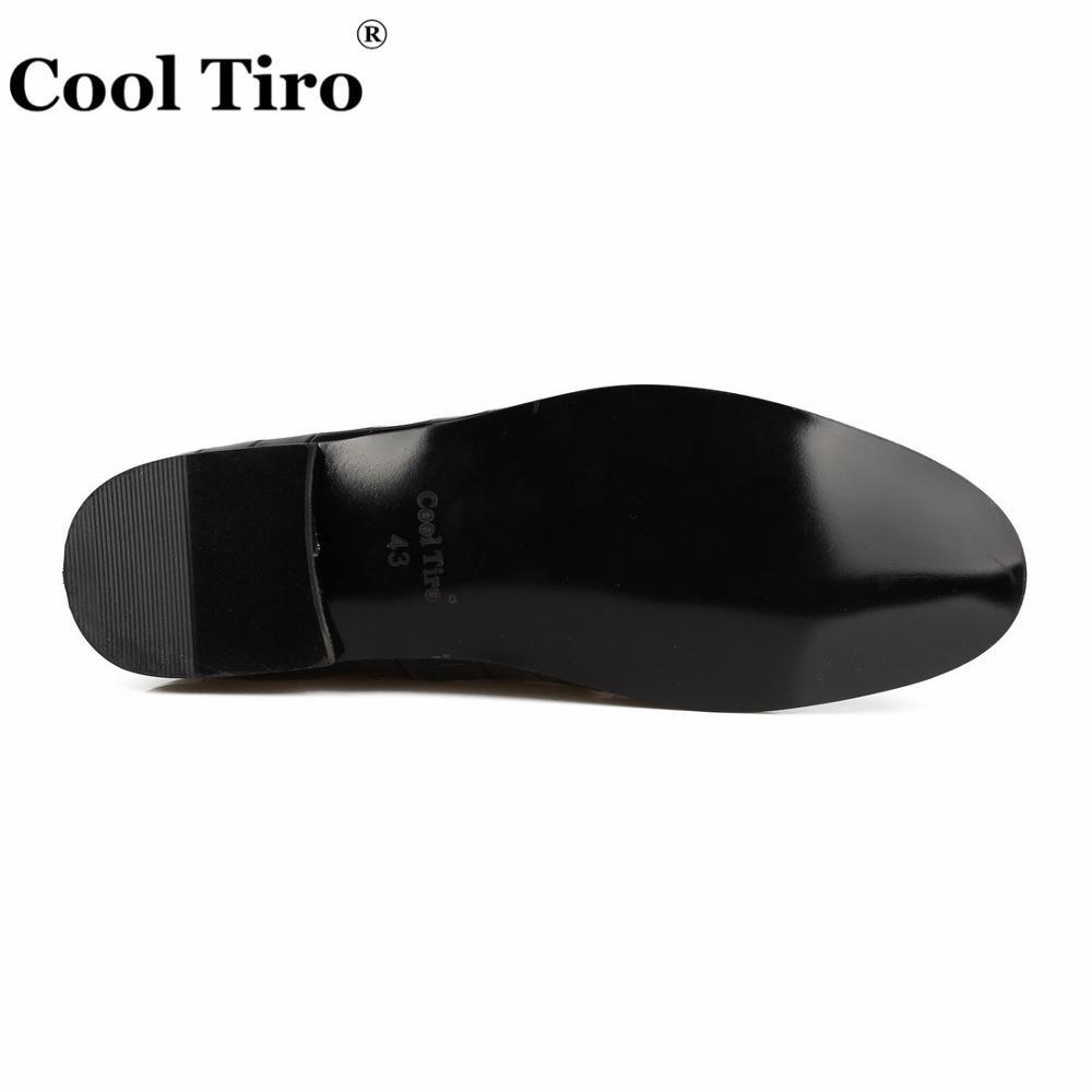 Casuales Zapatos Tiro Vestido Slip Flats Boda Genuino Hombres Cool Cocodrilo On Cuero Zapatillas Mocasines Negro z6wqdv8