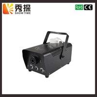 Free Shipping Remote Control LED 400W Fog Machine RGB Color Change Smoke Machine Professional For Performance