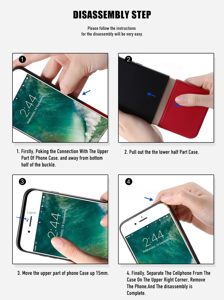 FLOVEME Fashion Contrast Hybrid Phone Cases For iPhone 6 7 6S Plus Higher Camera Protection Hard Hit Color Cover For iPhone 6 7 (13)
