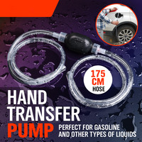HORUSDY Manual Gas Oil Transfer Pump Tubing Siphon Hose For Auto