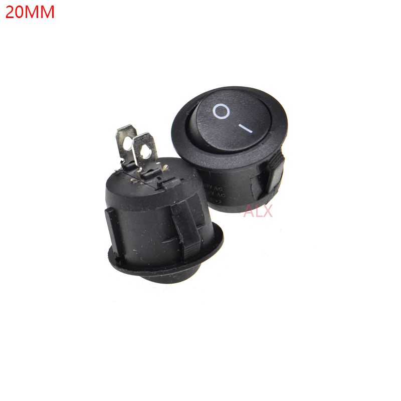 1 Piece Wired red Latching PUSH BUTTON SWITCH DC RED 3A 12mm car on//off C16
