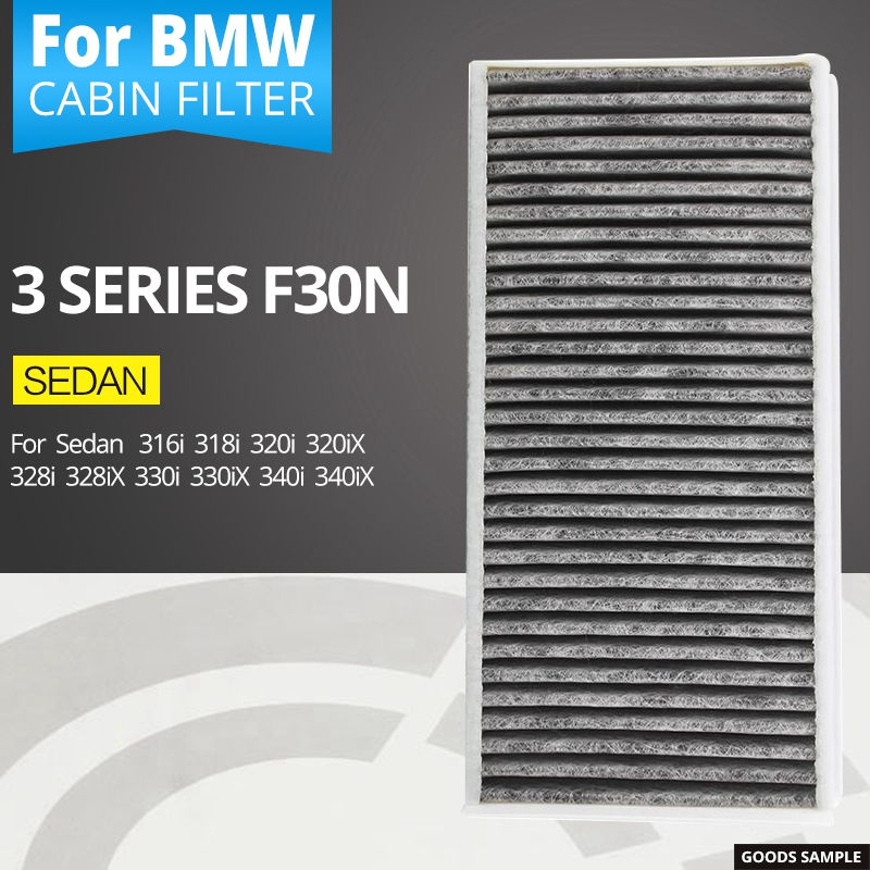 Air conditioning filter for BMW 3 series F30N sedan 316i 318i 320i 320iX 328i 328iX 330i 330iX 340i 340iX