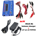 Бесплатная доставка IMAX B6 Липо Цифровой Баланс Зарядное Устройство с 12 В 5А Питания ДЛЯ RC Heli RC Автомобиль батареи