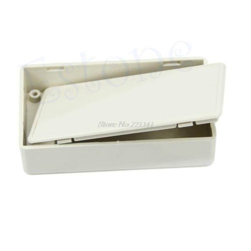 10Pcs/Lot Plastic Electronics Project Box Enclosure Case DIY New 3.34