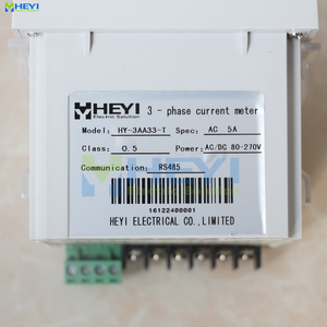 Image 5 - 3 phase LED digital amp meter manufacturer AC digital current meters with RS485 communication