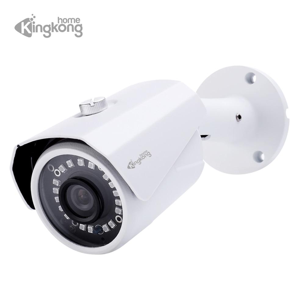 Kingkonghome H 265 font b outdoor b font IP Camera 1080P Night Vision waterproof Security Camera