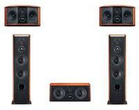 HiVi Swans 5.0 Stereo Sound System Home Theater speaker M6HT Main M6F Center M6C Surround M6R