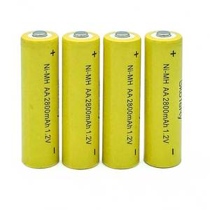 2/4/6/8/10PCS lot AA Ni-MH 1.2V AA Rechargeable 2800mAh Battery Rechargeable battery aa batteries for Flashlight/Camera Yellow