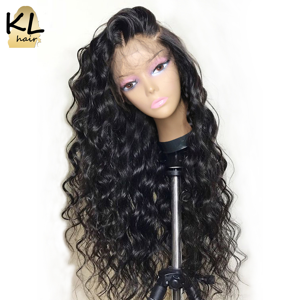 360 Lace Frontal Wig For Black Women 150 Density Loose Curly Wave Brazilian Remy Hair Human