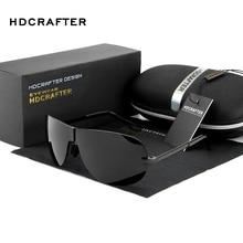 HDCRAFTER Hot Sunglasses Man 2017 Fashion Polarized Driving Outdoor Sun Glasses for Men Brand Designer Aviator Sunglasses