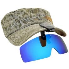 Поляризованные очки для рыбалки, кепки, козырьки, спортивные клипсы, кепки, клипсы, солнцезащитные очки для рыбалки, езды на велосипеде, пеших прогулок, гольф, очки UV400