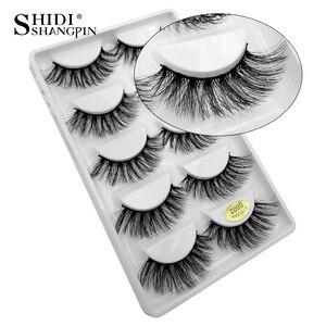 Image 4 - New 10 lots wholesale factory price mink false eyelashes hand made false eyelash natural long 3d mink lashes makeup faux cils