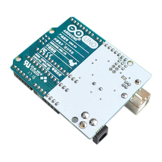 Official Arduino UNO with Free Acrylic Base and USB Cable