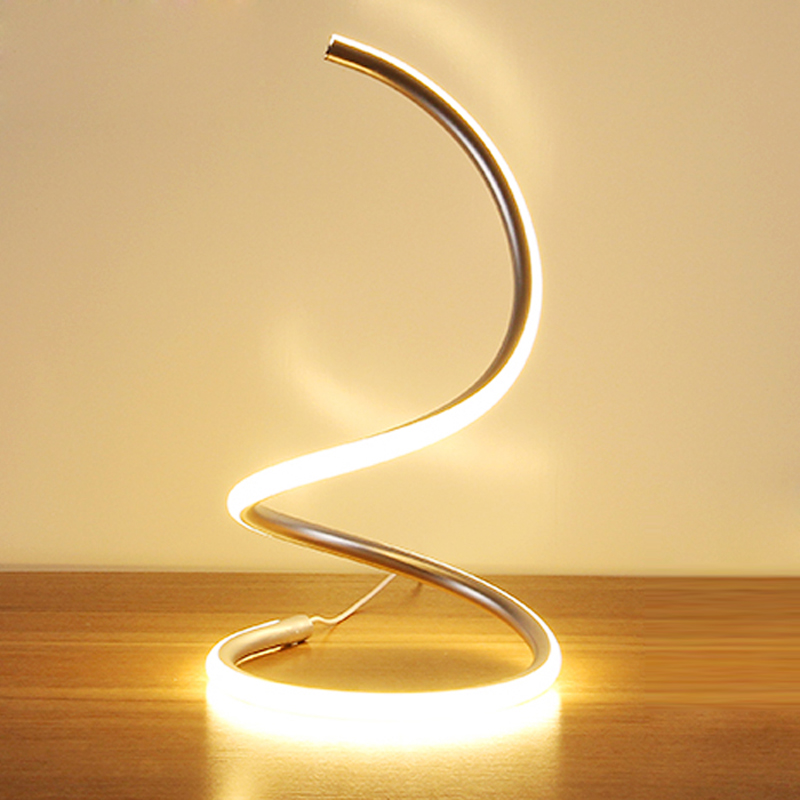 Modern Minimalist Art Led Table Lamps EU/US Plug Fashion Wedding Bedroom  LED Desk Lamp Living Room Table Lights Home Lighting  In LED Table Lamps  From ...