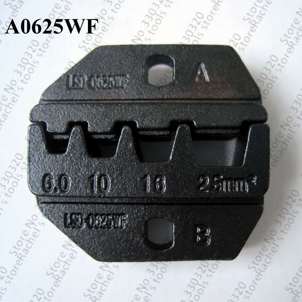 A0625wf Crimping Die Set Terminal Crimp Jaws For Cable Ferrules