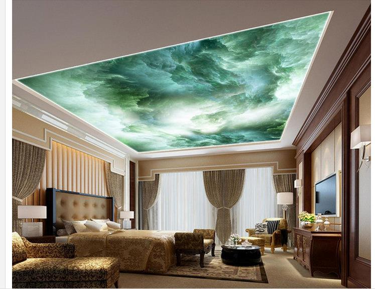Buy 3d ceiling murals wallpaper sky for Constellation ceiling mural