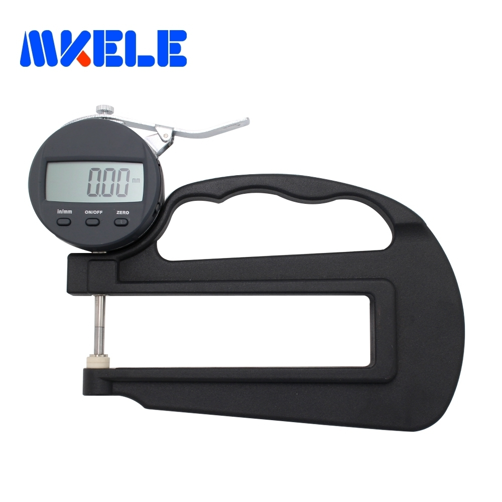 0 10 120 Mm 0 01 Mm Digital Thickness Gauge Leather Glass Measuring Tool in Width Measuring Instruments from Tools