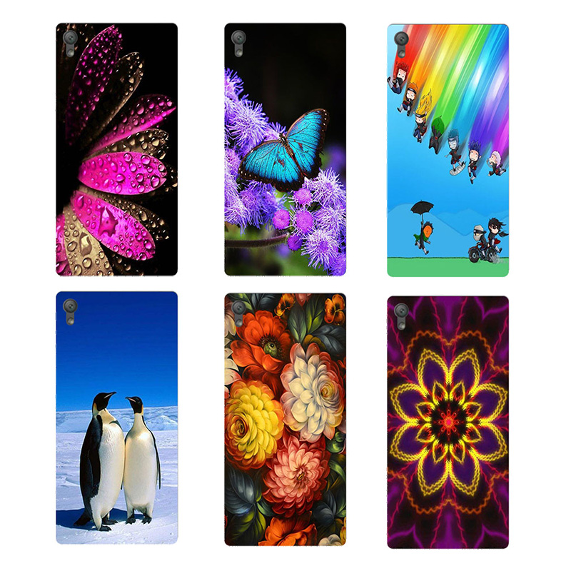 Painted Case For Sony Xperia XA F3111 F3113 F3115 5.0 inch Soft TPU Cover For Sony Xperia xa Back Case For Sony Xperia X A Shell
